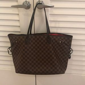 LV large neverful bag